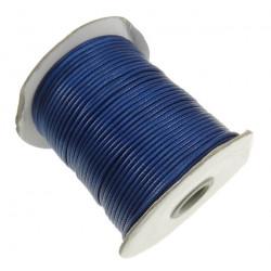 5m ou 10m Fil en Nylon Ciré 2mm Bleu Marine