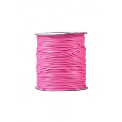 5m ou 10m Fil en Nylon Ciré 2mm Rose