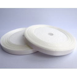 Rouleau Ruban Satin Blanc 7mm MC0307050