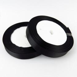 Ruban Satin Noir 25mm ( Au Mètre) MC0325004