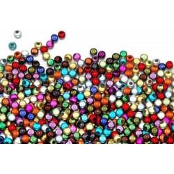 30 Perles 4mm Mixte Miracle Magique Effet Oeil de Poisson MC0104017
