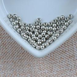100 Perle Acrylique Brillante 4mm Couleur Au Choix MC0104051-52