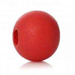 50 Perles en Bois 6mm Couleur Rouge Pasteque MC0106204