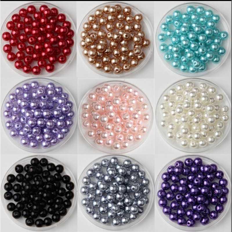 100 Perle imitation Brillant 3mm Couleur au Choix
