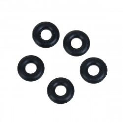 Lot 20 Silicone Stopper Noir 5mm Anneaux Caoutchouc MC0105008