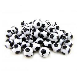 20 Perles Ballon de Football Acrylique 8mm MC0108065
