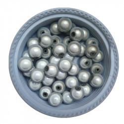20 Perles 6mm Blanc Miracle Magique Effet Oeil De Poisson MC0106056