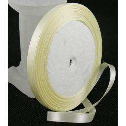 Ruban Satin Blanc Cassé 10mm - 1 Rouleau MC0310053