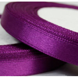 Ruban Satin Violet 6mm - 1 Rouleau MC0306052