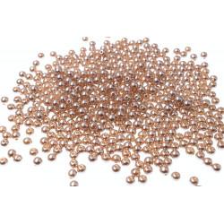 100 Perle imitation Brillant 3mm Couleur Camel MC0103048