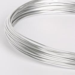 12m Fil Aluminium 1mm Couleur Argenté MC0210520