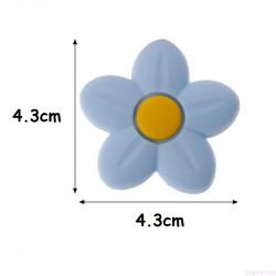 Fleur En Silicone 4.3cm