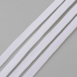 Fil Elastique Plat Blanc 6mm (vendu au metre) MC0210350B