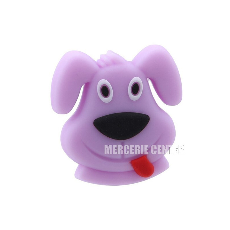 Perle Silicone Chien 29mm x 28mm