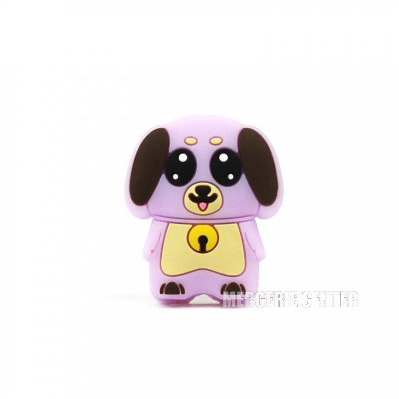 Perle Silicone Petit Chien 30mm x 27mm